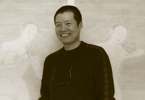 Portrait Han Dong, Photo: Eduardo Hirose 2007