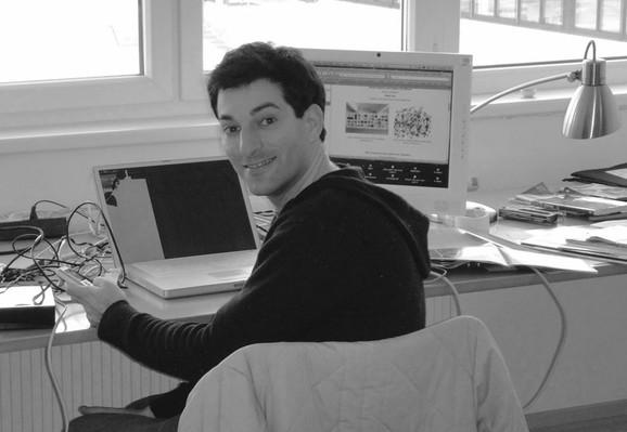 Portrait Barak Reiser A, Barak Reiser 2010