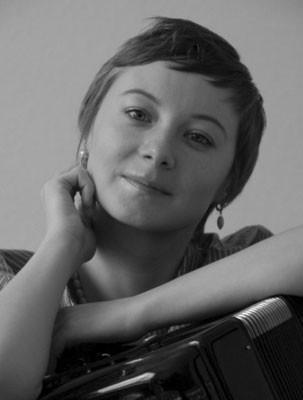Portrait Valzhyna Mort, Photo: Doug Barber