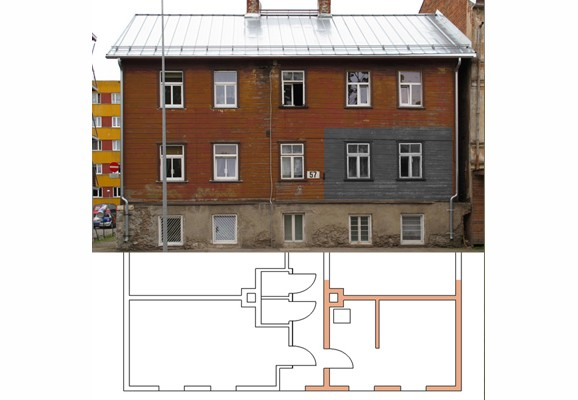 Büro für Architektur, Siiri Kolka Apartment, Estland 2011, Matthias Neumann