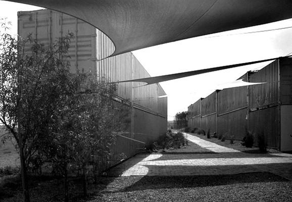Temporaere Ausstellungsbauten für die Spier Biennial 2007, Matthias Neumann