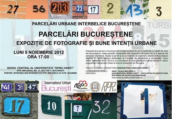 PARCEĂRI LURBANE INTERBELICE BUCUREŞTENE , Ioana Tudora 2012