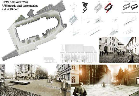 Honterus Square Brasov, Ioana Tudora & RPR birou de studii contemporane & studio Basar