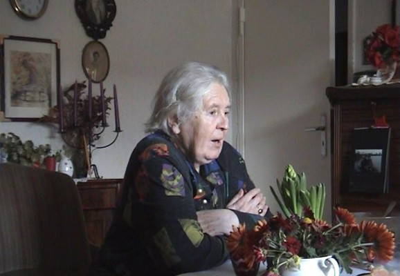 "An afternoon with Mrs Baeck, Maria Sundström 2009, video still from ""A collected history"""