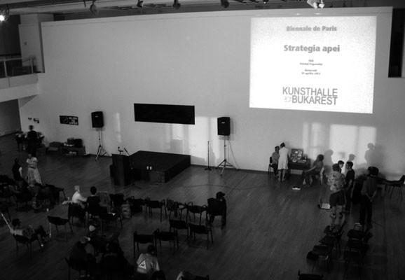 Die Kunsthalle Bukarest, Postspectacle MNAC Shelter
