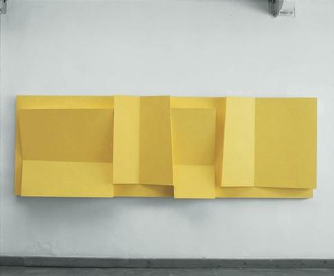 Objekt 12.02.27, István Haász, 2012 Acryl, Collage, MDF
