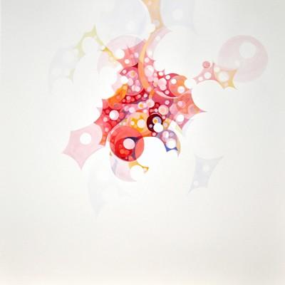 O.T., Magdolna Szabó, Wasserfarbe auf Papier, 2013
