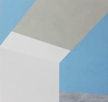 Edge, 2013, Marie Hanlon, Acryl auf Holz
