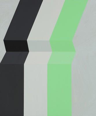Wave, 2013, Marie Hanlon, Acryl auf Holz