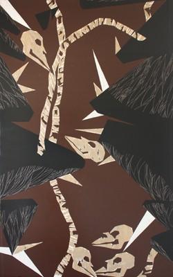 Between the trees, Monika Vrancová, 2012, Acryl auf Gipskartonplatten