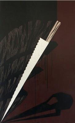 Sundial of the Dark Forrest, Monika Vrancová, 2009, Acryl auf Gipskartonplatten