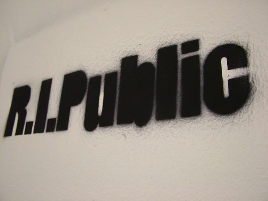 R.I.Public, Péter Szabó, 2012,  Schablone