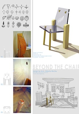 Beyond the chair, Arch. Biborka Bartha, Möbelprojekt, 2014