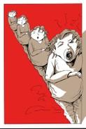 Copyright Tina Brenneisen, Comicroman 2016