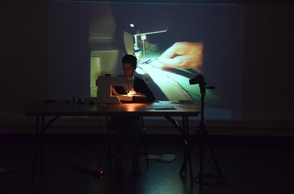 Map Series, Ana Mendes, Performance, Errant Bodies, März, 2016, Foto: Franziska Becher