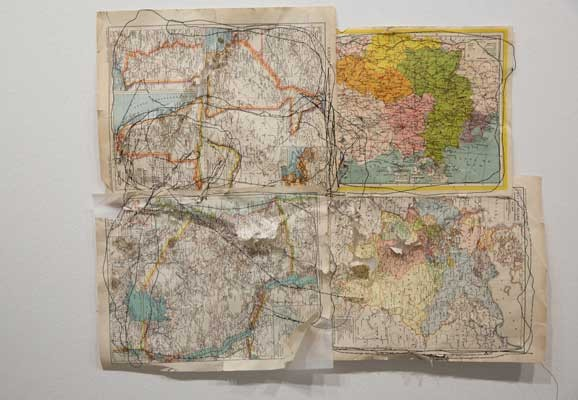 Map Series, Ana Mendes, Performance, Kunstraum Niederösterreich, Wien, 2016  Foto: esel@esel.at