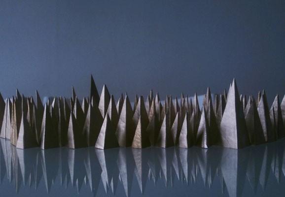 Standing in the way of control, Conor O'Grady, Foto: Conor O'Grady, Installation aus grünen Nelken, Dimension variabel, 2015