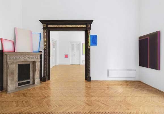 Organimetry, Bernáth Dániel, Foto: Réka Hegyháti, ART+TEXT Budapest Galerie, Ungarn, 2016