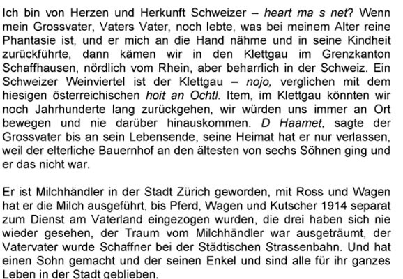 Text, Kaspar Schnetzler 2007