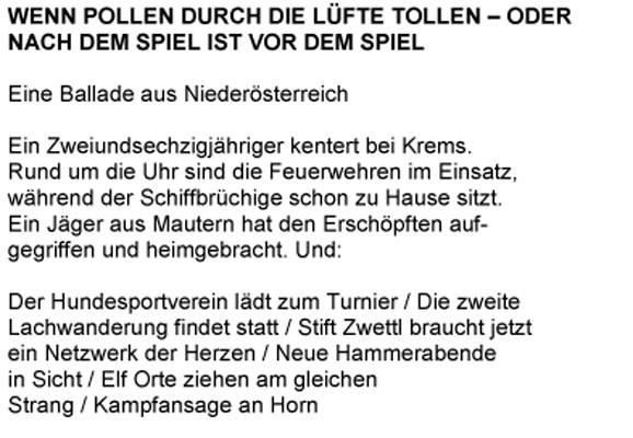 Text, Klaus Merz 2007