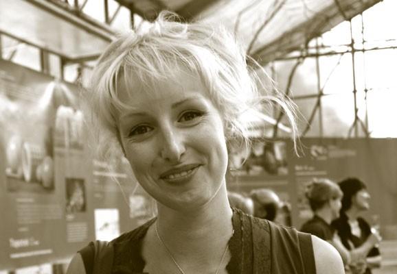 Portrait Aimee Fairman, Aimee Fairman 2008