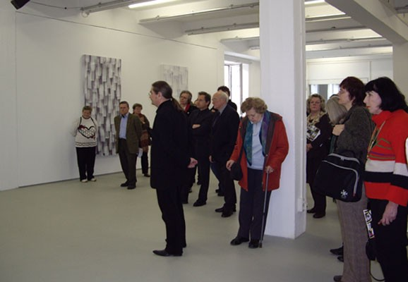 Exhibition opening, AIR 2008