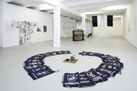 Exhibition, Kazuko Miyamoto 2008, Photo: Christian Redtenbacher