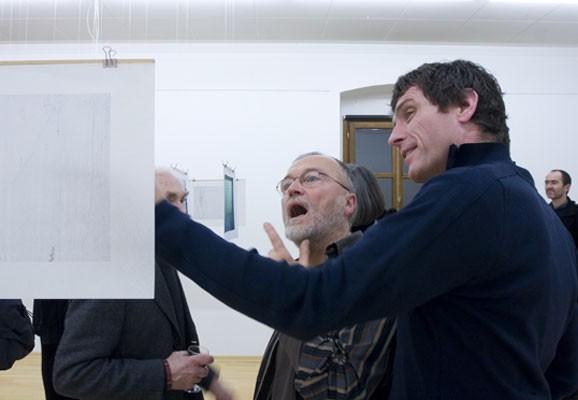 Exhibition opening, Michael Tweed 2008, Photo: Eduardo Hirose