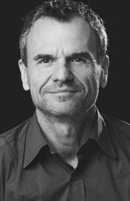 Portrait Christian Uetz, Photo: Secession Verlag