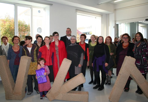 Exhibition opening, Photo: Tina Bayer 2011