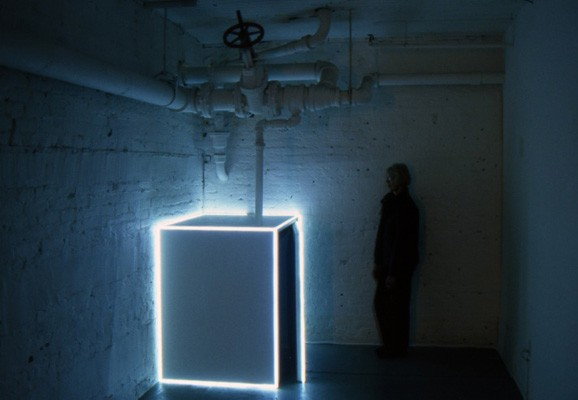 Untitled (band pass) , Andy Graydon, sculptural video installation 2011-2013