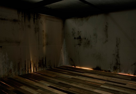 Fathom , Joshua Churchill 2008, site specific mixed media sound and light installation