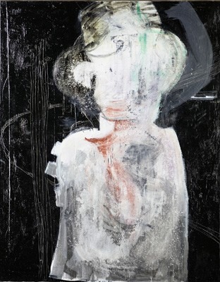 Untitled, Alice Eikelpoth, 2014, oil, resin on canvas