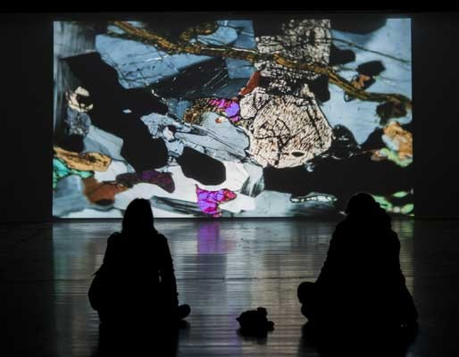 Hollow Earth , Emilija Skarnulyte, video installation, 2014