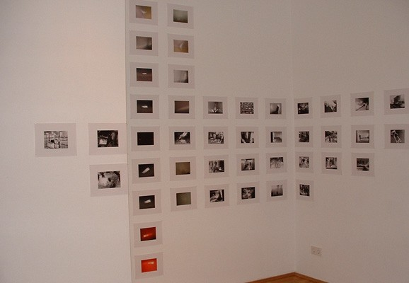 Calling the ghosts, Mary Patten, installation view