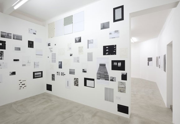 ENVIRONMENT OF TIME , Michal Škoda, installation view 2013, Drdova Gallery, Prague