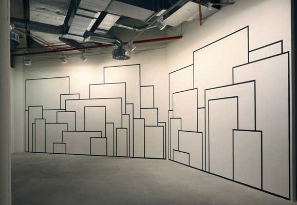 IT IS NOT WHAT IT SEEMS TO BE , Michal Škoda, installation view 2010, Gallery Liberec