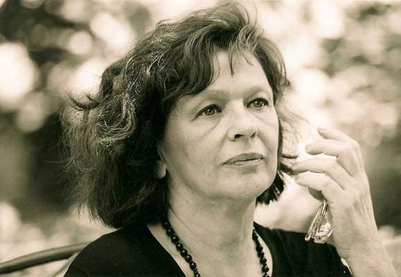 Zsuzsanna Gahse , Photo:Wolfgang Kühn