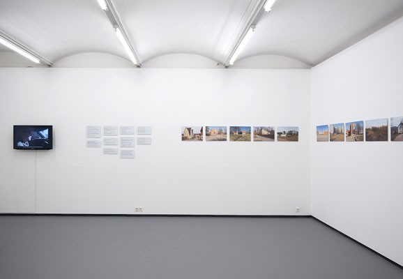 "Nachbilder, Madis Luik, photo: Michael Michlmayr, exhibition view ""Linn Viljandi"", Fotogalerie Wien, 2016"
