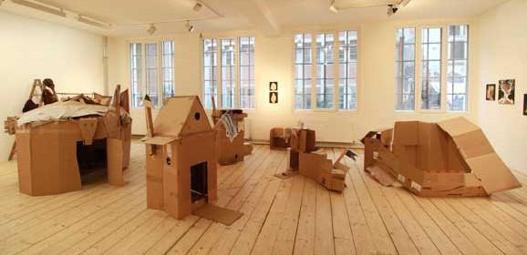 o.T., Moki, Foto: Moki, Ausstellungsansicht MOM ARTSPACE, Hamburg 2017